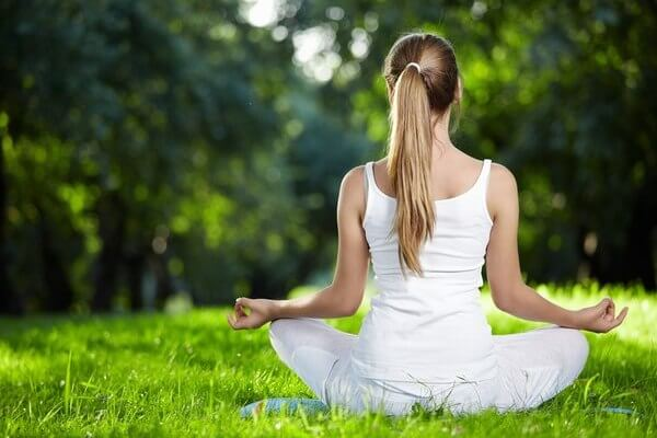 Medizin Meditation